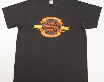 Vintage 80s Harley Davidson 1903-1983 Biker T-shirt XL Made in USA