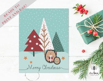 Merry Christmas Printable Card