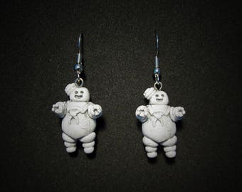Stay Puft earrings