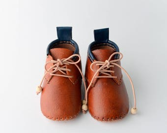 Handmade Unique Leather Baby Shoes