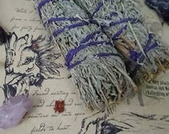 Sage Smudge Stick || Smudging Pagan Wicca || Cleansing Ritual ||