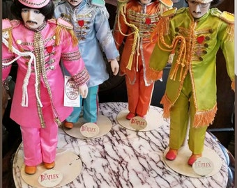 Sgt Peppers Lonely Hearts Club Band 4 Porcelain Beatles Dolls