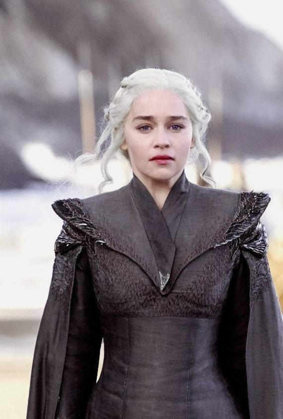 Got daenerys targaryen season 7 first dress custom made for Daenerys jewelry season 7