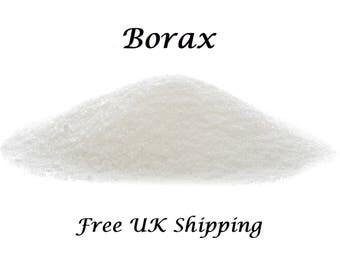 Borax, FREE UK Shipping,  Perfect for Slime, 500 gms Sodium Tetraborate Decahydrate.  20 Mule Team Borax,