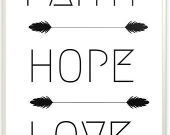 Faith, Hope, Love - faith, hope, love