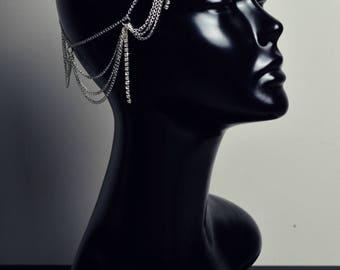 Head chain silver