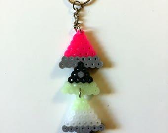 Perler Bead Keychain