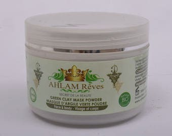 100 % French Green Clay Face Mask