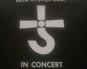 Vintage Blue Oyster Cult Concert Book  1970 used