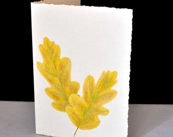 Hand Painted Cards featuring fall leaves