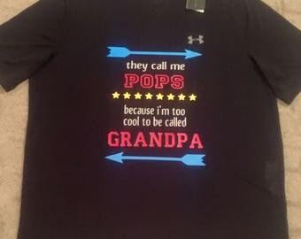 Custom Name/Nickname Grandpa Shirt