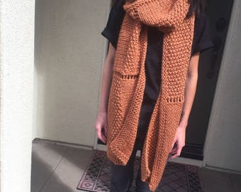 OVERSIZED SIERRA SCARF // Chunky Scarf // Extra Long Scarf // Blanket Scarf