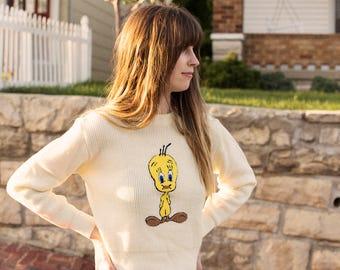 1966 Tweety Sweater