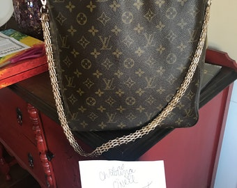 Authentic Louis Vuitton Looping GM-Altered