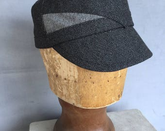 RODEO - Black Wool Denim
