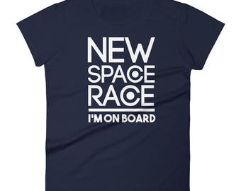 New Space Race I'm On Board Women's short sleeve t-shirt