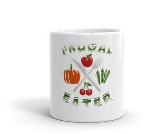Frugal Eater Novelty Mug By Spartees