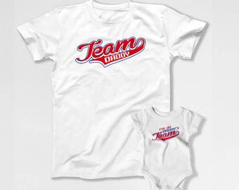 Matching Father And Baby Father Son Shirts Dad And Daughter Matching T Shirts Daddy And Baby Gift For New Dad Family Outfits TEP-326-327
