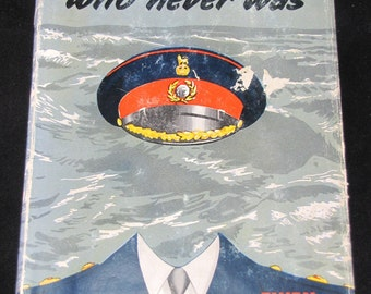 The Man Who Never Was // 1954 Hardback // Secret History Book // People in Italy Saved - Real Life Thriller