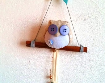 Fuoriporta Welcome-Owl on the branch