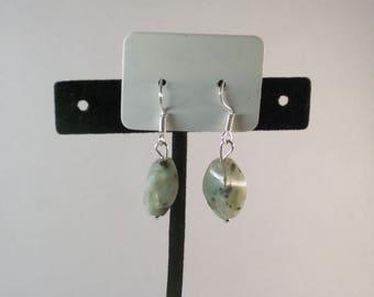 Kiwi Jasper Earrings
