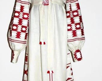 Vishivanka Dress Vyshyvanka Ukrainian Embroidery Boho Clothing Kaftan Dress Abaya Embroidered Dresses Plus size Clothing Folk Ethnic style