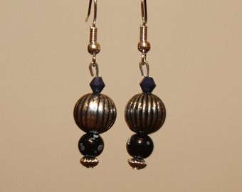 Beaded handmade earrings
