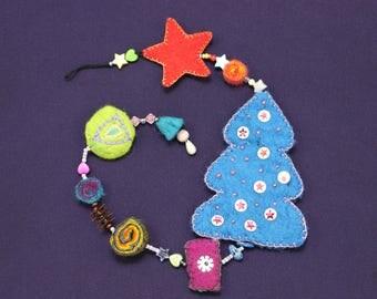 Magical Christmas Garland-enchanting Christmas garland K01