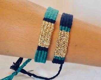 Bracelet: Duo Amesoeurs Gold Sam