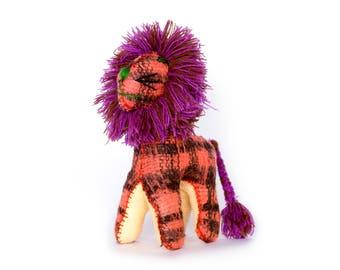 Handmade 100% Wool / Lion / Mexican Folk Toy