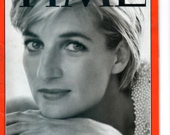 Time Magazine - September 15 1997 - Diana, Princess of Wales  - Commemorative Issue