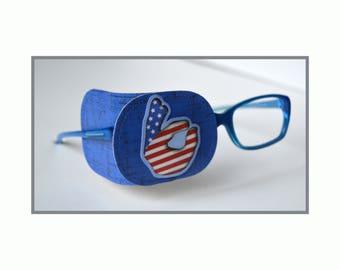 eye patch for kids/ eye treatment/ lazy eye/ the patch fits glasses frame/