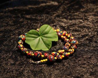Colourful Fimo necklace