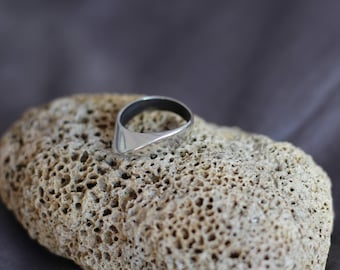 Sterling Silver Ring 925, Orbital, handcrafted jewelry