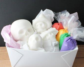 Handmade Sugar Skull Kit