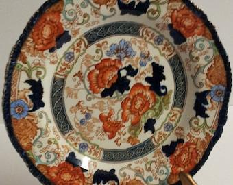 "Vintage Wood & Son Royal Semi Porcelain VERONA 9"" Plate"