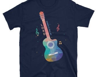 Guitar Gift, Lord Of The Strings, Music Gift Men, Gifts For Hem, Funny Guitar, Guitar Player, Guitar Shirt