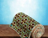 Roll of seven paper towels all washable wipes gift vintage pattern