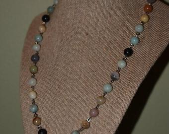 Amazonite Spheres Necklace