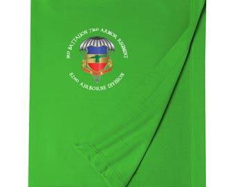 3/73rd Armor (Airborne) Embroidered Blanket-3454