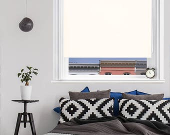 cream express thermal blackout roller blinds made to measure