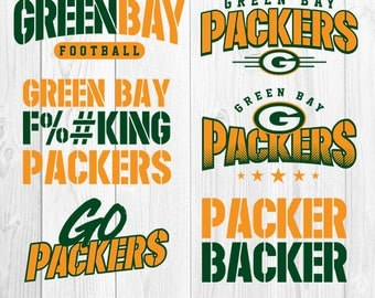 Green Bay Packers football, Green Bay Packers svg, cameo svg for cricut, instant download, football clipart, football logo, S-060