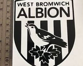 West Bromwich Albion Decal - Bumper Sticker
