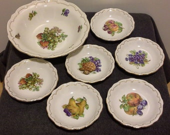 Very nice Weimar Porcelain dessert service