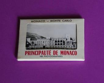 the Principality of Monaco souvenir 10 photographs