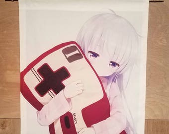Aoba New Game anime japanese style wall scroll