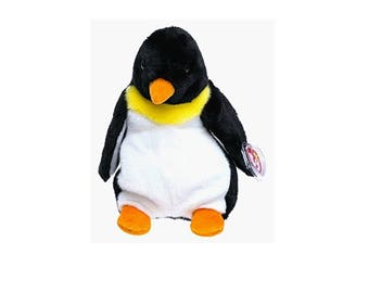 Ty Beanie Buddies Waddle the Penguin 1998