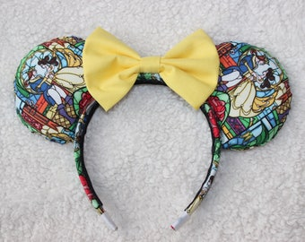 Beauty and the Beast/Belle Mouse Ears