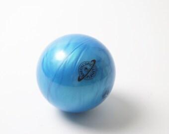 Rheoscopic Fluid Planet-Earth Blue