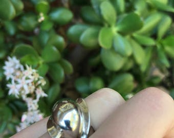 FUNKY SILVER RING